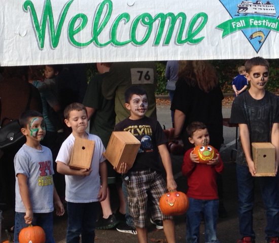 Welcome to the Fauntleroy Fall Festival!