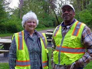 Seattle Parks and Recreation staff
