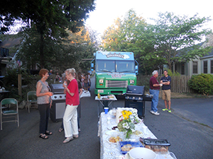 2014 Night Out block party at SW Henderson, near the Fauntleroy Ferry dock