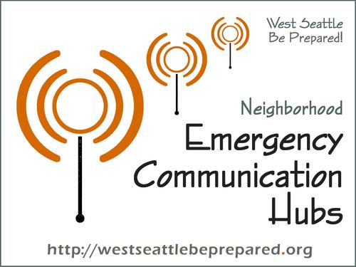 West Seattle Communication Hubs Link