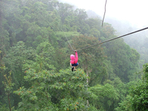 Ziplining image from Wikipedia